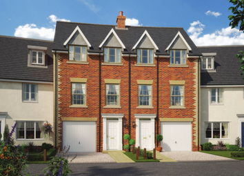 Thumbnail 4 bedroom town house for sale in Colne Gardens, Off Robinson Road, Colchester, Essex