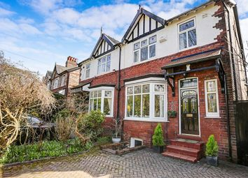 Thumbnail 4 bed semi-detached house for sale in Ferndale Avenue, Woodsmoor, Stockport