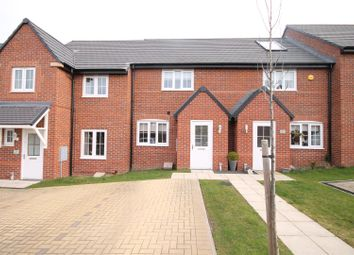 Thumbnail 2 bed terraced house for sale in Foundry Close, Coxhoe, Durham