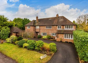 Thumbnail 5 bed detached house to rent in Mile Path, Hook Heath, Woking