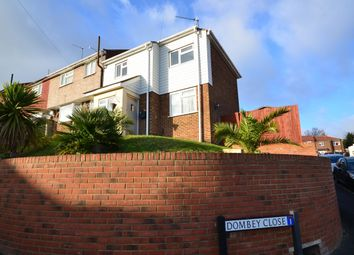 Thumbnail 3 bed end terrace house to rent in Pickwick Crescent, Rochester