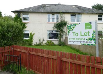 Thumbnail 2 bed flat to rent in Park Crescent, Scone, Perth