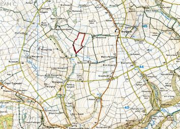 Thumbnail Land for sale in Land Part Of Panteinon, Cwm Cou, Newcastle Emlyn, Ceredigion