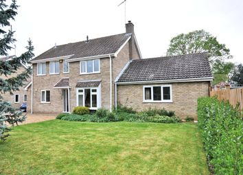 Thumbnail 4 bed detached house for sale in Carlton Drive, North Wootton, King's Lynn