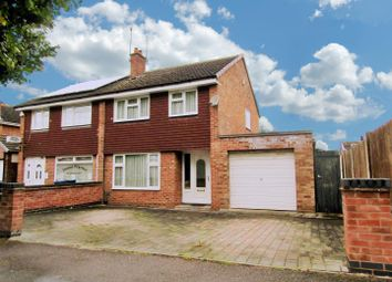 Thumbnail 3 bed semi-detached house for sale in Nicklaus Road, Leicester