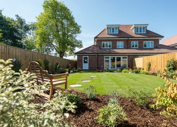 Thumbnail 4 bed semi-detached house for sale in Akeman Mews, Aston Clinton Road, Weston Turville