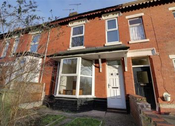 Thumbnail 4 bed terraced house to rent in Ruskin Road, Crewe