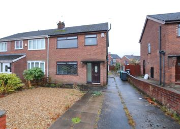 Thumbnail 3 bedroom semi-detached house for sale in Norfolk Crescent, Failsworth, Manchester