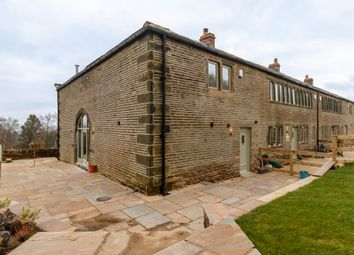 Thumbnail 3 bed barn conversion for sale in Wilshaw Road, Wilshaw, Holmfirth