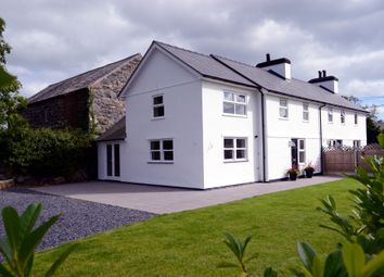 Thumbnail 3 bed semi-detached house for sale in Abererch, Pen Llyn, North West Wales