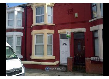 Thumbnail 3 bed terraced house to rent in Ennismore Road, Liverpool