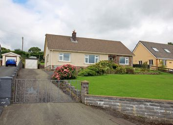 Thumbnail 3 bed detached bungalow for sale in Cwmfelin Mynach, Whitland, Carmarthenshire