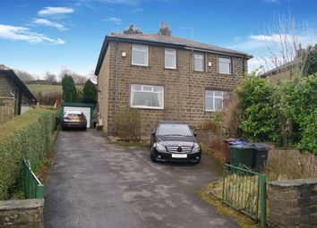 Thumbnail 3 bed semi-detached house for sale in Hebden Road, Haworth, West Yorkshire