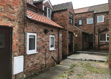 Thumbnail 1 bed terraced house to rent in Flatgate, Howden, Goole