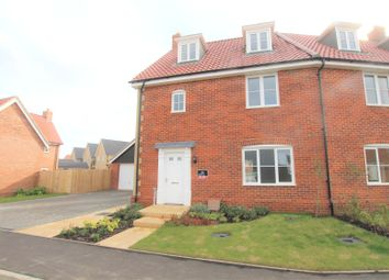 Thumbnail 3 bed town house for sale in Heronsgate, Yarmouth Road, Blofield, Norwich, Norfolk