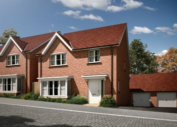 "Thumbnail 4 bedroom detached house for sale in ""The Downham"" at Radwinter Road, Saffron Walden, Essex, Saffron Walden"
