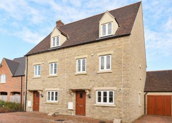 Thumbnail 3 bed semi-detached house for sale in Willowbank, Witney