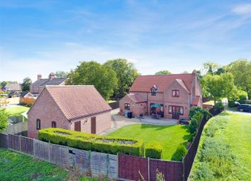 Thumbnail 4 bed detached house for sale in West Road, Pointon, Sleaford