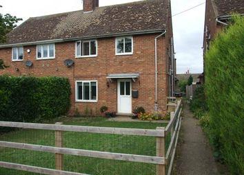 Thumbnail 3 bed semi-detached house for sale in Lakenheath, Brandon, Suffolk