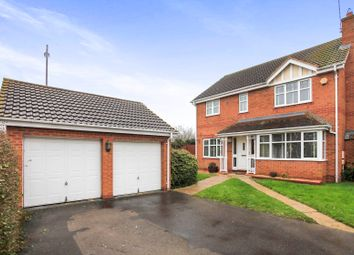 Thumbnail 4 bedroom detached house for sale in Morgan Close, Yaxley, Peterborough