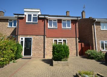 Thumbnail 4 bed semi-detached house for sale in Wheatsheaf Way, Linton, Cambridge