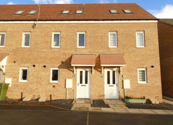 Thumbnail 3 bed town house to rent in Garcia Drive, Ashington
