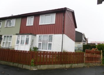 Thumbnail 3 bedroom end terrace house for sale in Colesbourne Road, Paulsgrove, Portsmouth