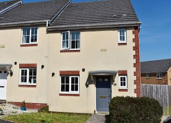 Thumbnail 3 bed end terrace house for sale in Heol Y Fronfraith Fawr, Broadlands, Bridgend.