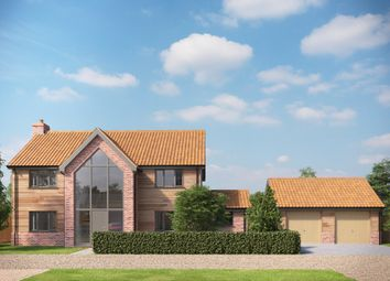 Thumbnail 4 bed detached house for sale in Hockering, Dereham