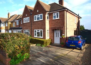 Thumbnail 3 bed semi-detached house for sale in Woodgate Drive, Birstall, Leicester