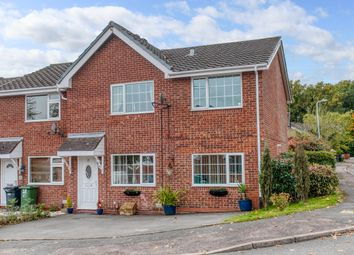 Thumbnail 4 bed end terrace house for sale in Bilbury Close, Walkwood, Redditch