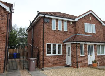 Thumbnail 2 bed semi-detached house to rent in Wittering Close, Long Eaton, Nottingham