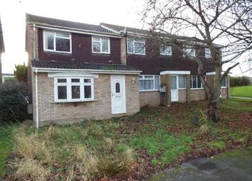 Thumbnail 3 bedroom end terrace house for sale in Verulam Gardens, Luton, Bedfordshire
