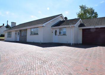 Crancombe Lane, Woolavington, Bridgwater TA7. 3 bed detached bungalow