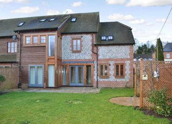 Thumbnail 4 bed semi-detached house to rent in Beales Farm Road, Lambourn, Hungerford