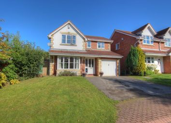Thumbnail 4 bed detached house for sale in Beechfield Rise, Coxhoe, Durham