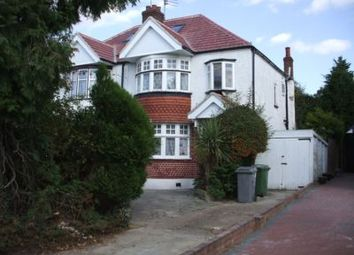 Thumbnail 3 bed semi-detached house to rent in St Augustines Avenue, Wembley