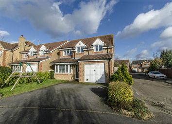 Thumbnail 4 bed detached house for sale in Strawberry Mead, Fair Oak, Eastleigh, Hampshire