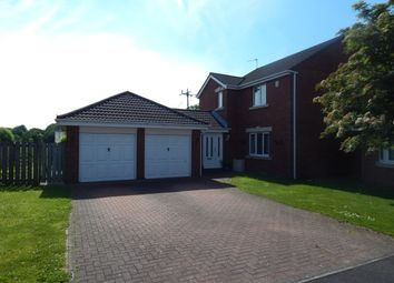 Thumbnail 4 bed detached house to rent in Acomb Court, Bedlington