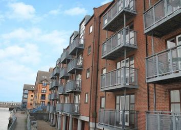 Thumbnail 2 bedroom flat for sale in Russell Quay, Gravesend, Kent, England