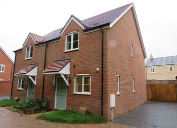 Thumbnail 2 bed semi-detached house for sale in Crown Close, Wantage