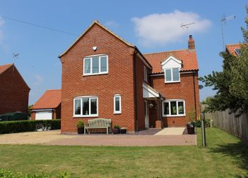 Thumbnail 4 bed detached house for sale in Ashburton Road, Ickburgh, Thetford