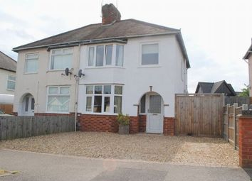 Thumbnail 3 bed semi-detached house for sale in Central Avenue, Kingsthorpe, Northampton