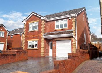 Thumbnail 4 bed detached house for sale in Amelia Close, Merthyr Tydfil
