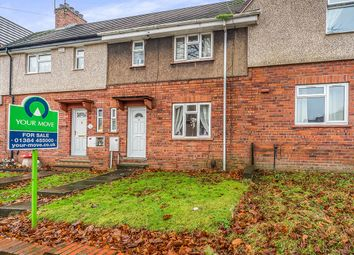 Thumbnail 3 bed terraced house for sale in Poplar Crescent, Dudley