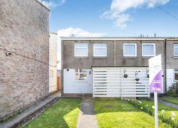 Thumbnail 3 bedroom end terrace house for sale in Swandene, Pagham, Bognor Regis