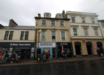 Thumbnail 2 bed flat for sale in High Street, Irvine