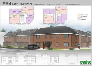Thumbnail 2 bed flat for sale in Mab Lane, Liverpool, Merseyside