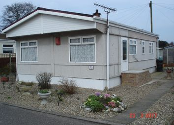 Thumbnail 2 bed mobile/park home for sale in Woodland View, Stratton Strawless, Norwich