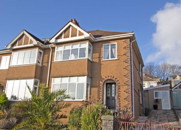 Thumbnail 3 bed semi-detached house for sale in Fairview Avenue, Laira, Plymouth
